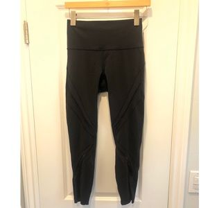 Lululemon Luon Mesh 7/8 Tight *BLACK